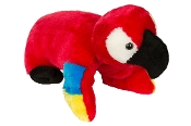 "40"" PARROT PILLOW CHUM ""CRACKER"""