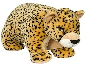 "48"" JUMBO CHEETAH PILLOW CHUM ""SPOTS"""